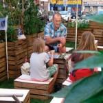 Gardens: fringe Chelsea